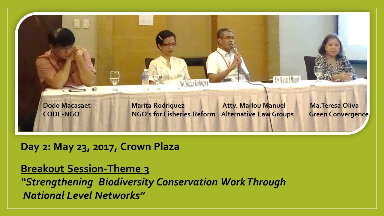 First National Biodiversity Congress 2017