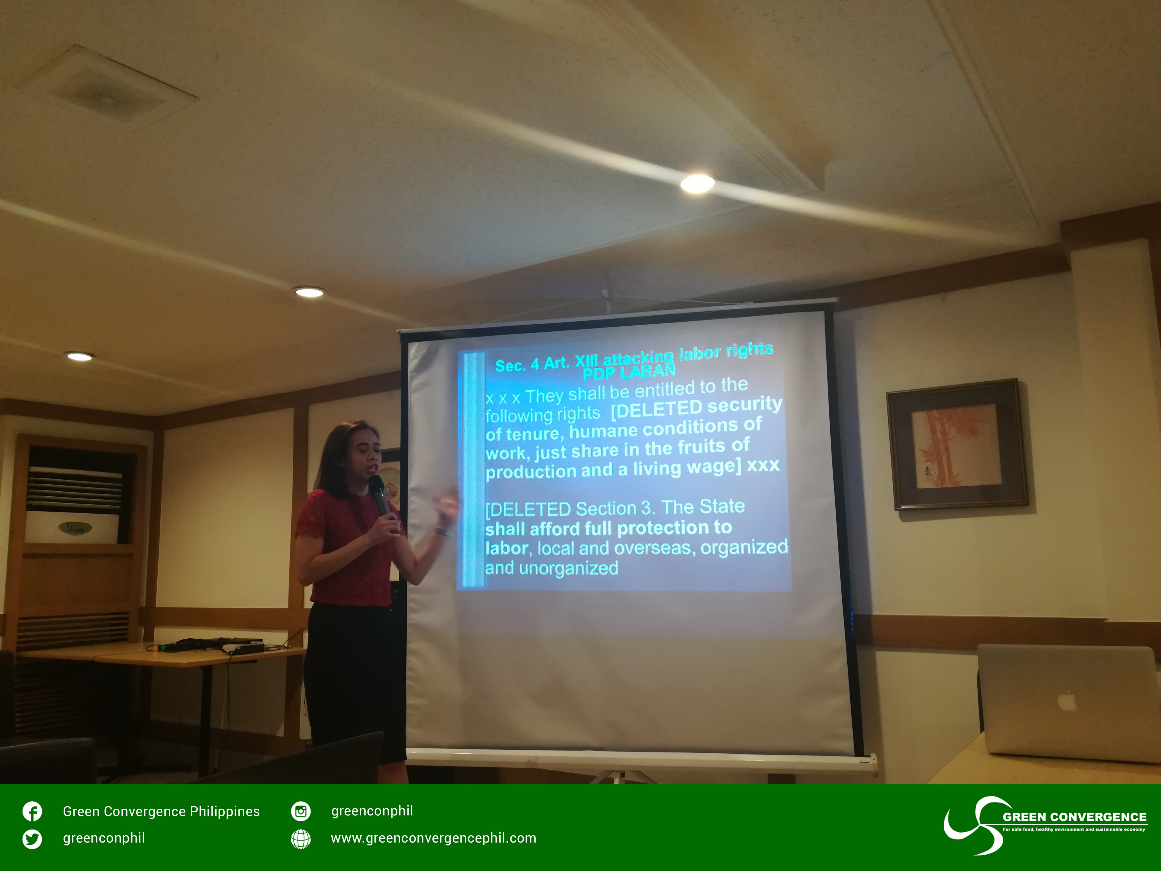 Philippine Law – Green Convergence For safe food, healthy